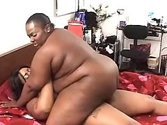 Black fat lesbian licks other ebony